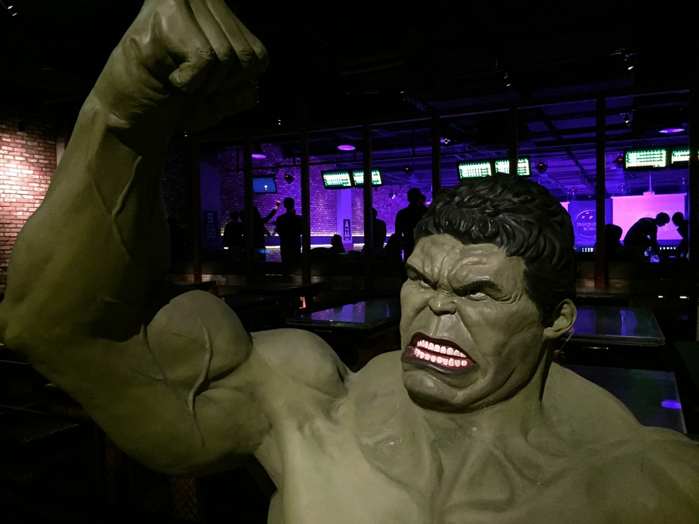Hulk at the Entrance
