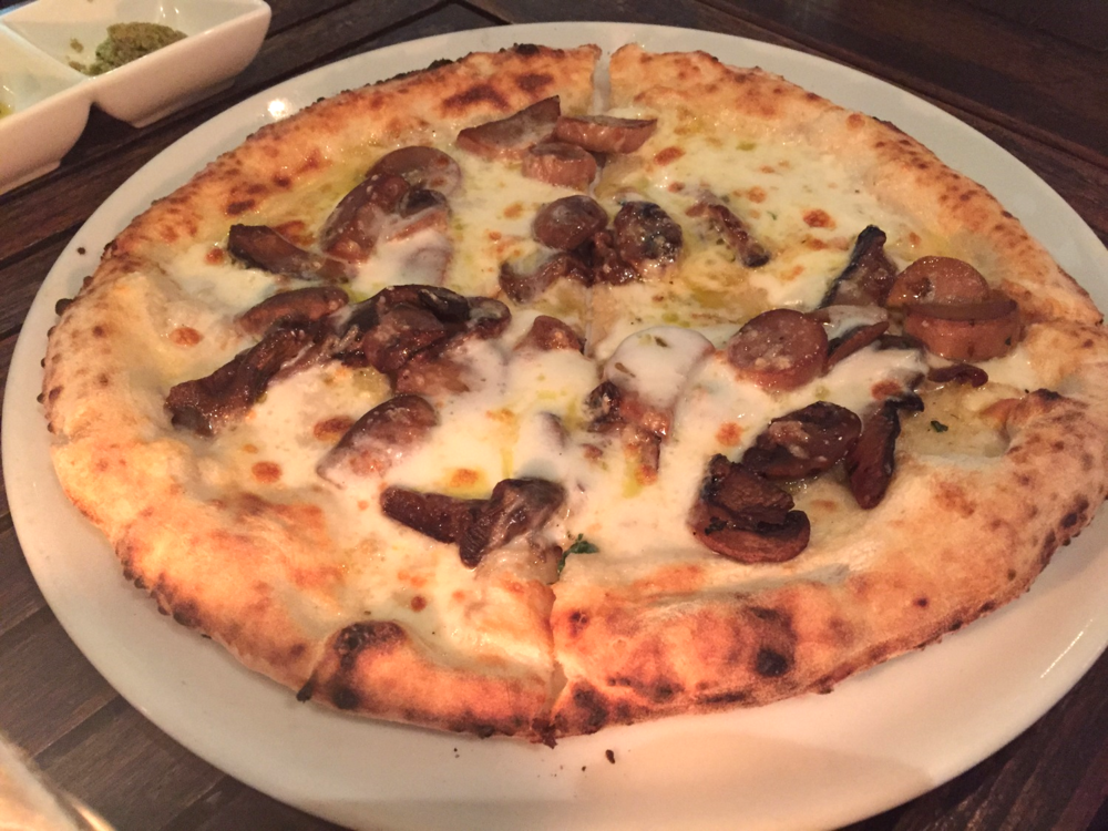 Porcini Pizza