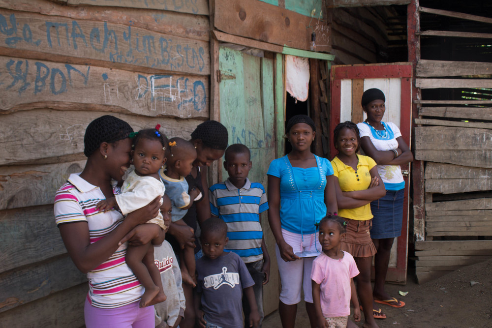 A Haitian family talks about their migration experience to &  in the Dominican Republic.