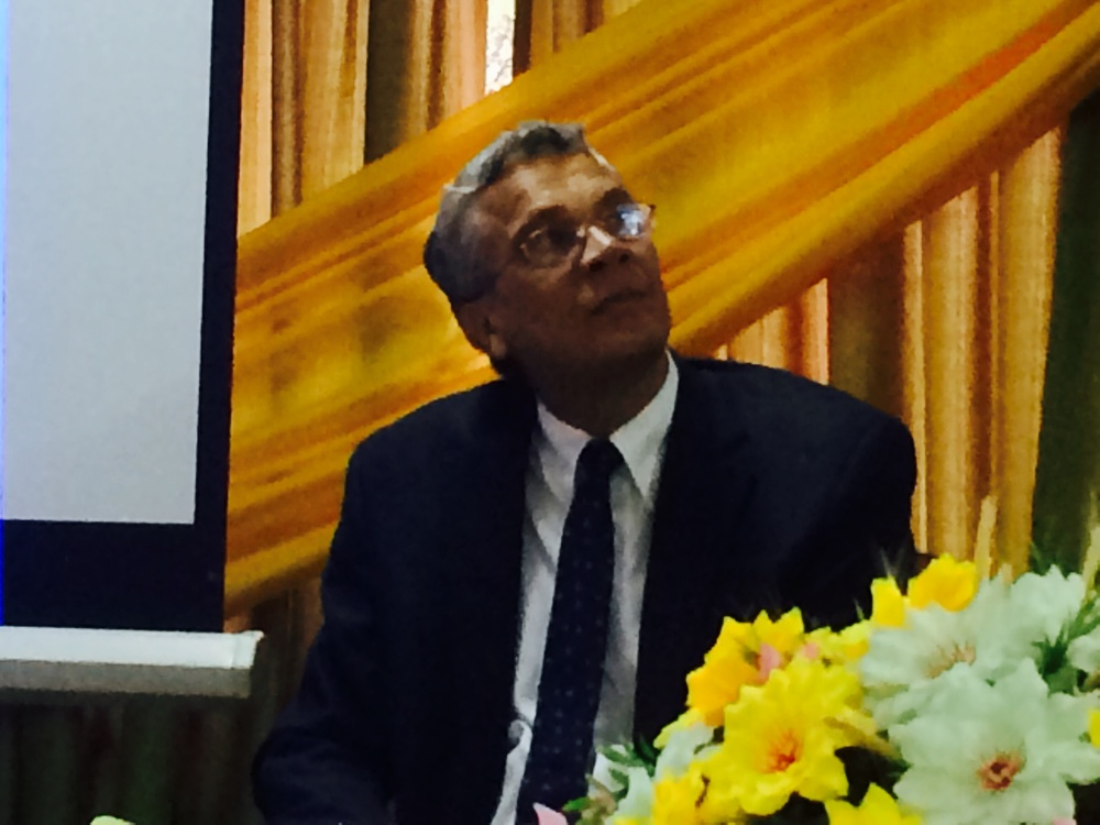 Dr Keith Cárter asesor regional de malaria