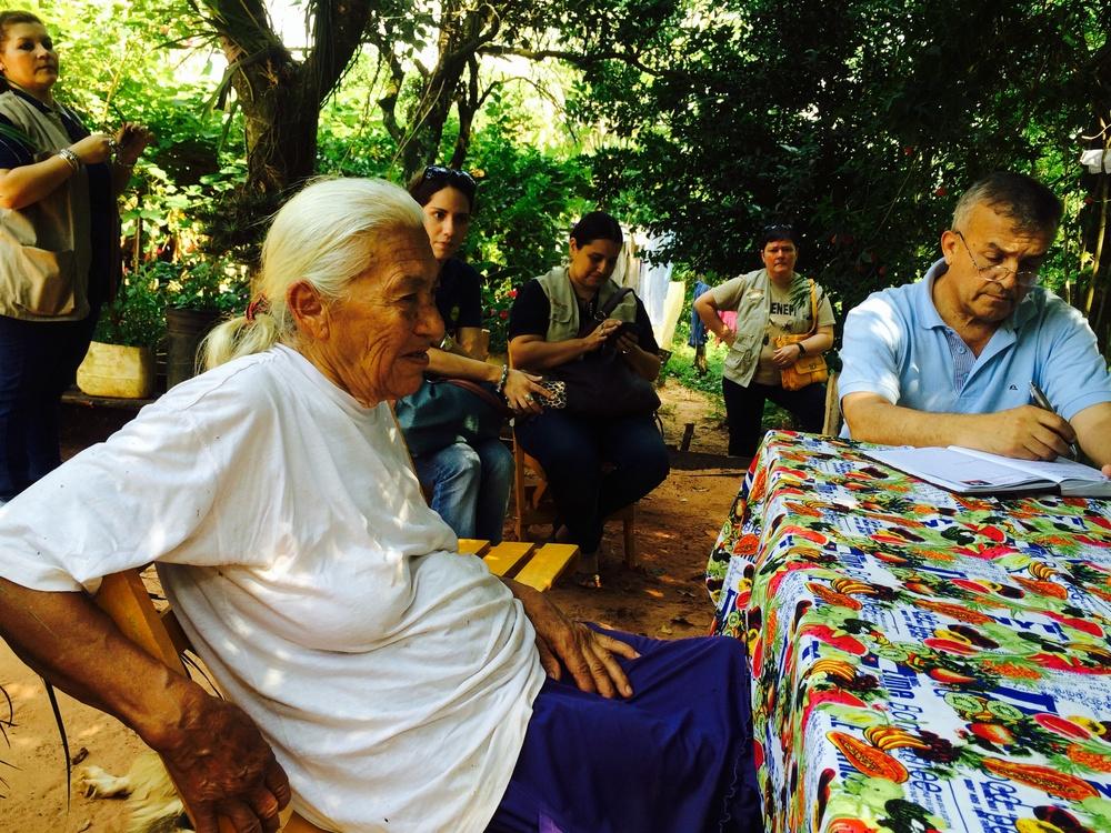 Doña Irma Medina, 77 años