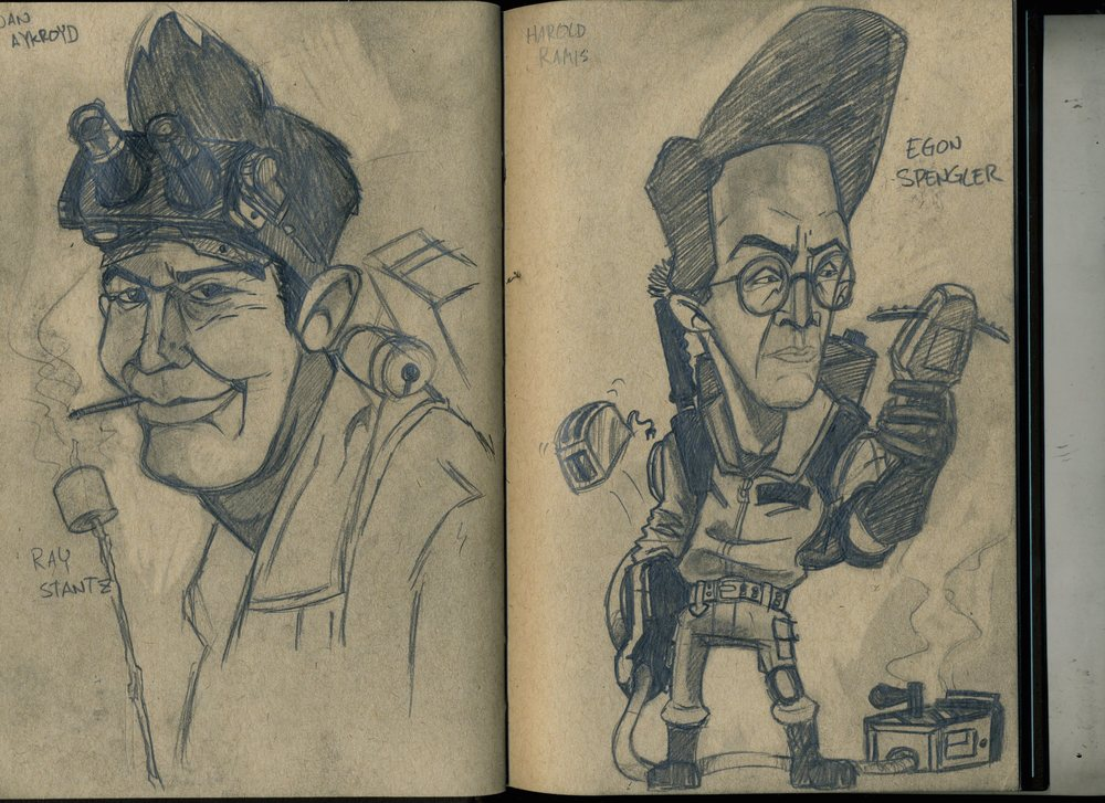 Ghostbuster Portraits 2