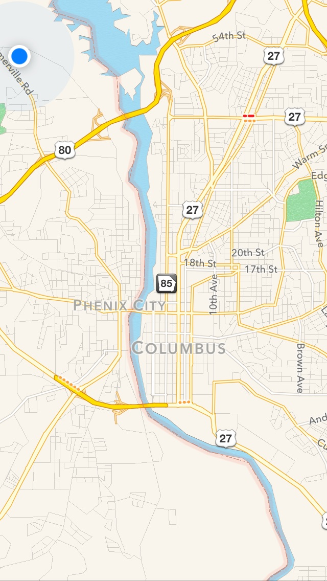 We technically live in Phenix City, Alabama but work in both Columbus and Phenix City.