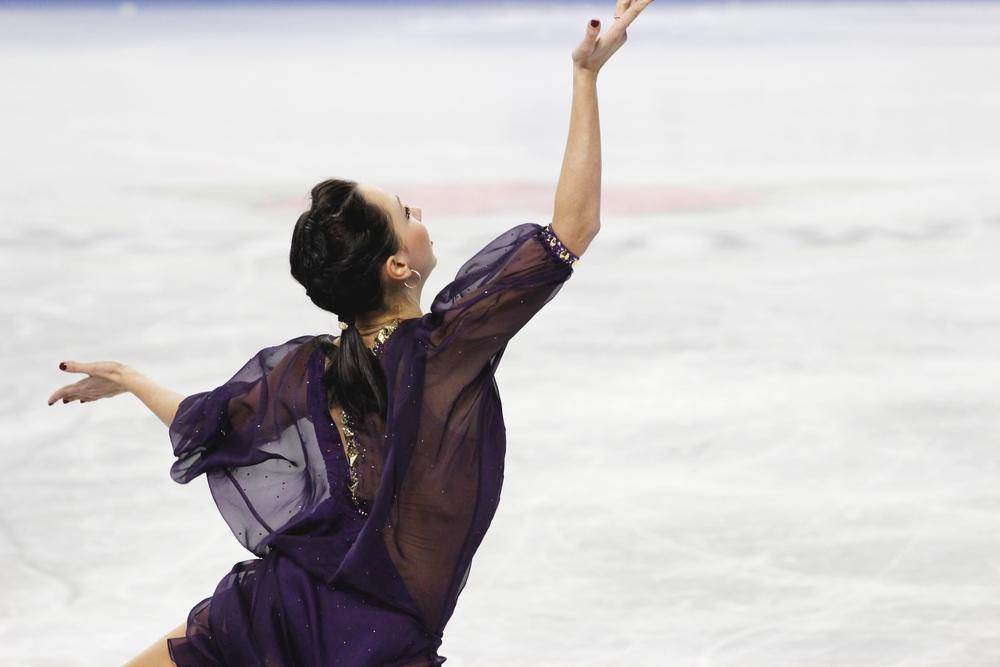 Elizaveta Tuktamysheva, Skate America 2014