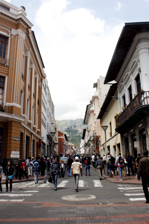 Centro Historico de Quito, Ecuador