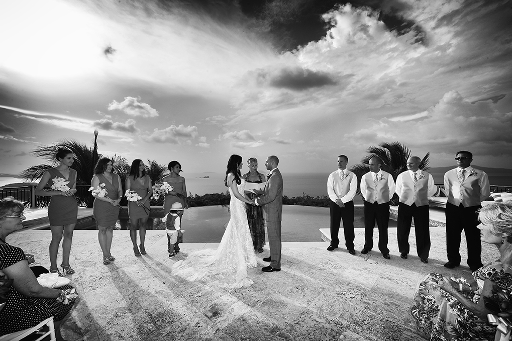 Villa Wedding on St John