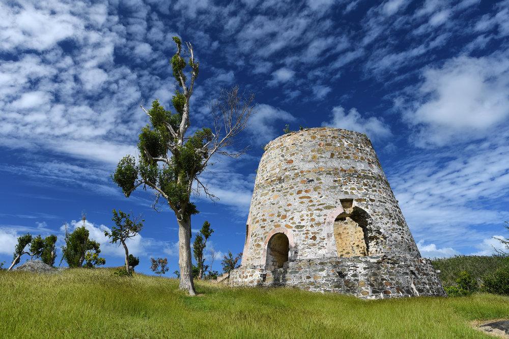 historic sugar mill ruins