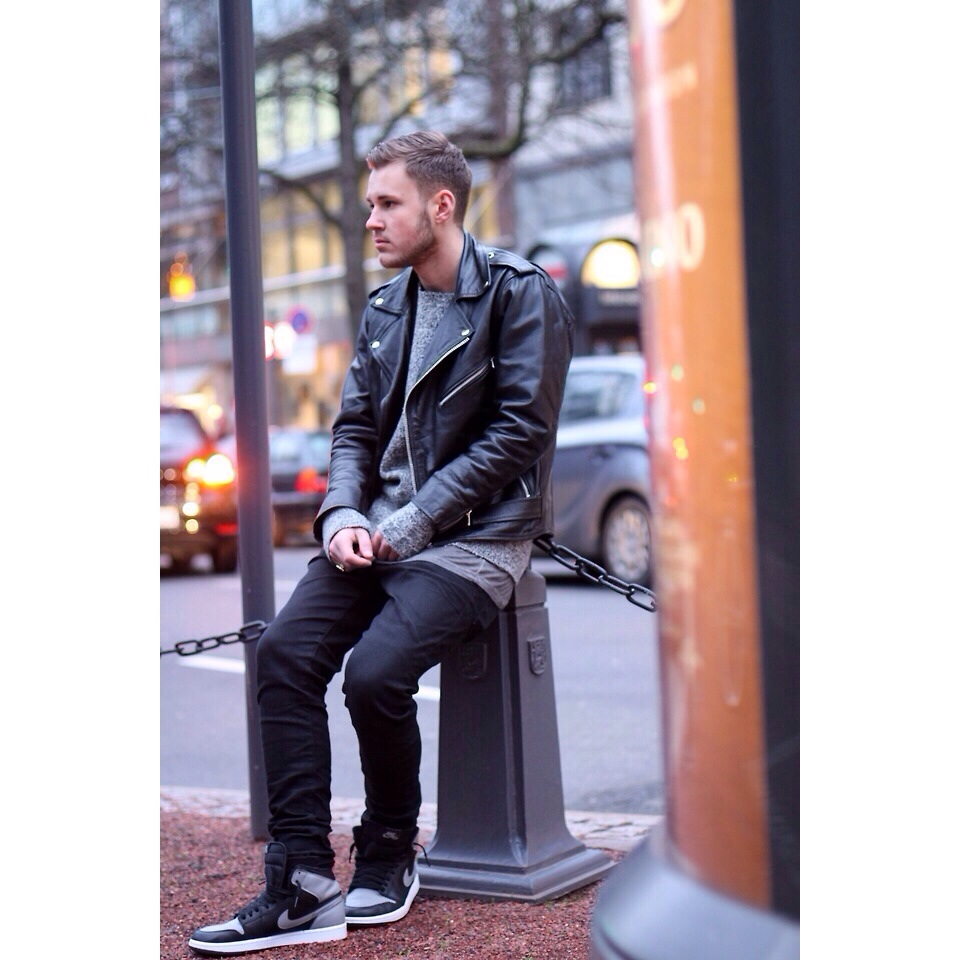 "All images from fvshiontactics.tumblr.com ""My leather biker jacket is an everyday piece"""