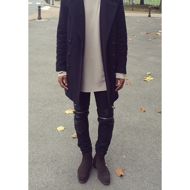 @keezynobless with a great example of layering and mixing cool and warm colors.