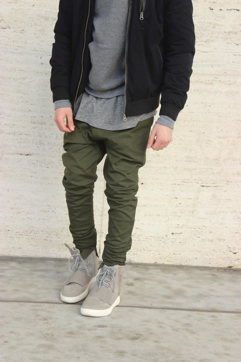 I Love Ugly Army Green Zespy Pants. By @dillonhughes