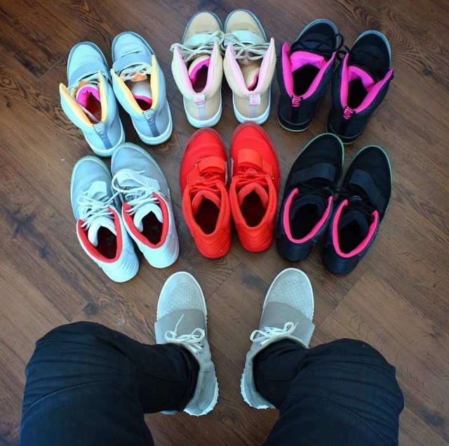 Yeezy Collection @coryjkings