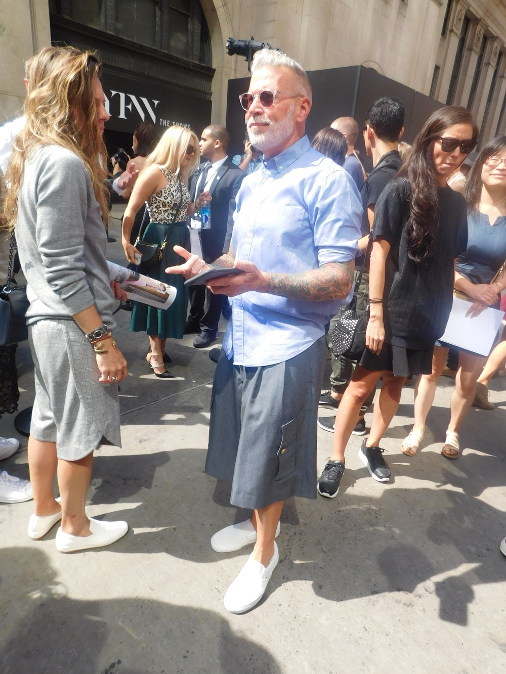 Nick Wooster being Fly as usual.