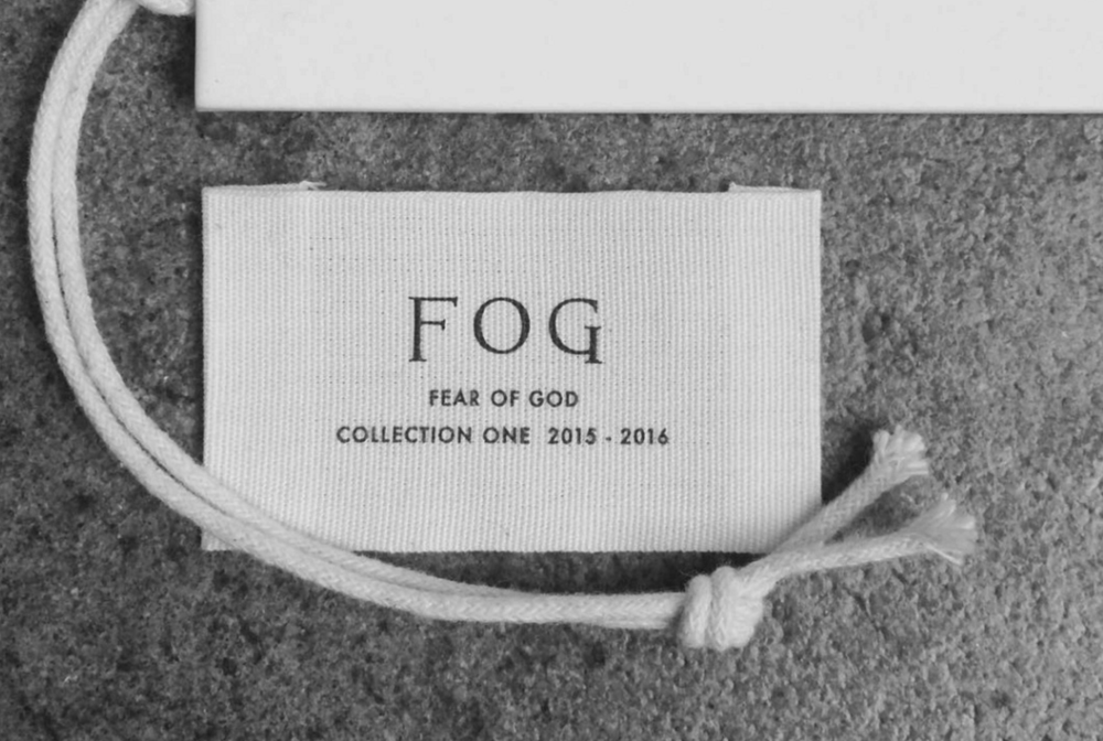 The Label & Hangtags for FOG