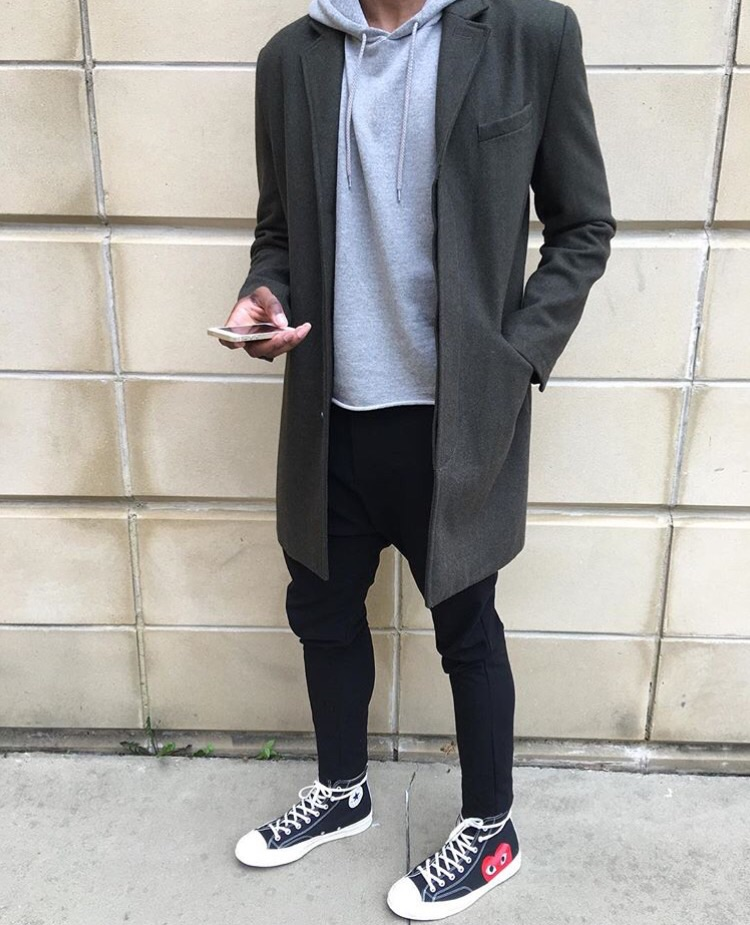 cdg x converse outfit