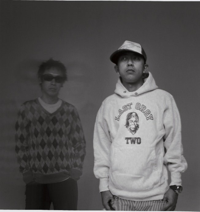 Jun Takahashi and Nigo of NOWHERE