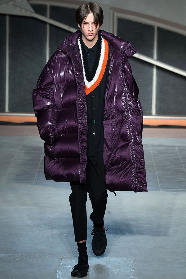 Raf Simons Puffer Coat from FW 16  Nightmares and Dreams