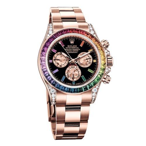 08170683d2f Rolex Presents the Rainbow Daytona In Everose Gold