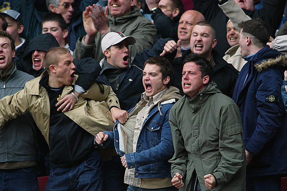 Stone Island was a staple brand in soccer hooligan culture.
