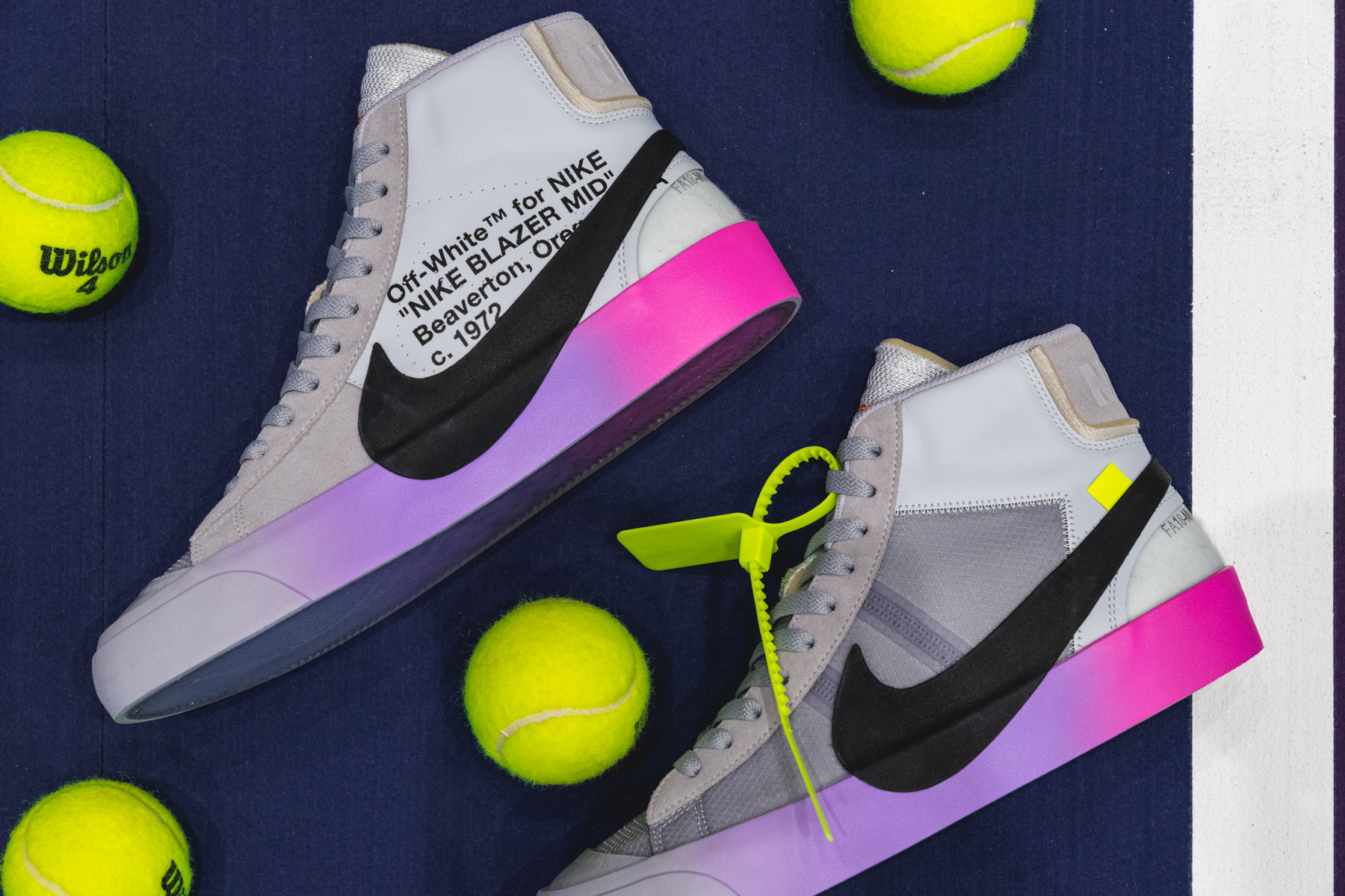 Virgil Abloh Gifts Serena Williams the Off White x Nike Air