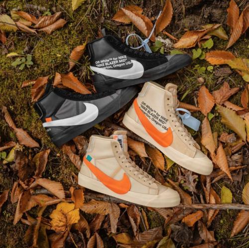 77fed2e96a0c Off-White x Nike Blazers