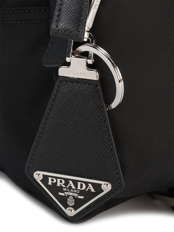 Prada Black Keychain,  Farfetch