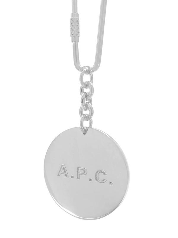 A.P.C. Logo Keyring,  Farfetch