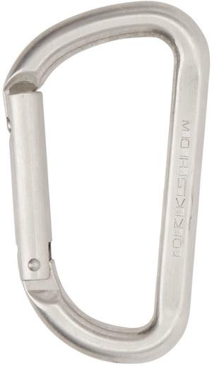 Rick Owens Drkshdw Silver Clip Keychain,  SSENSE