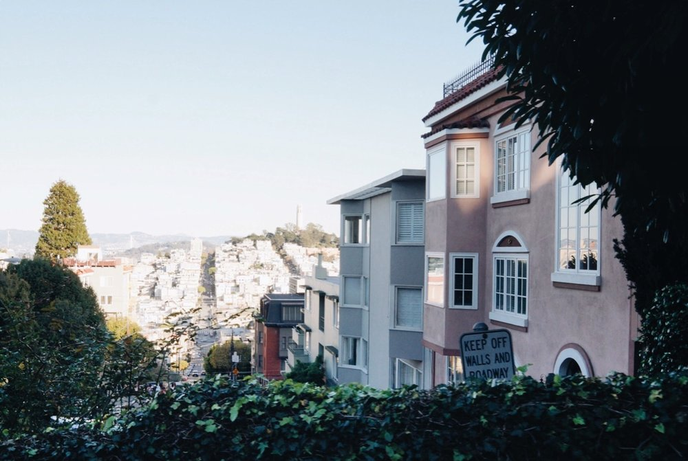 View from Lombard Street