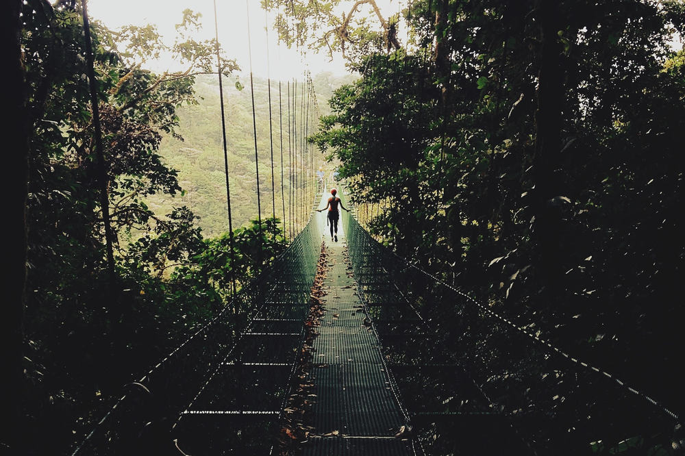 Facing Fears and Walking to the End of the Swinging Bridge