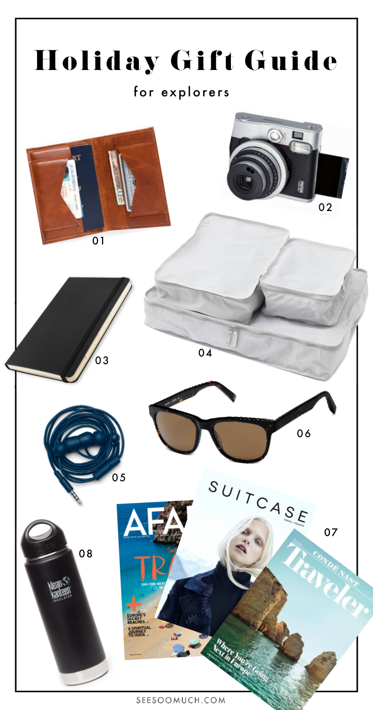 Holiday Gifts for Explorers