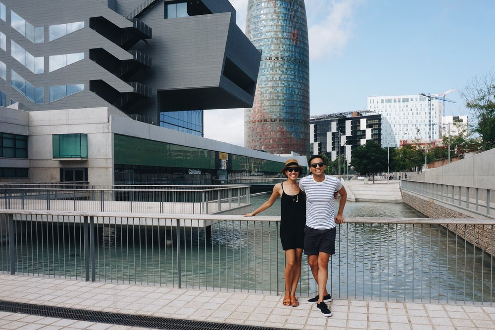 Design Museum of Barcelona & Agbar Tower