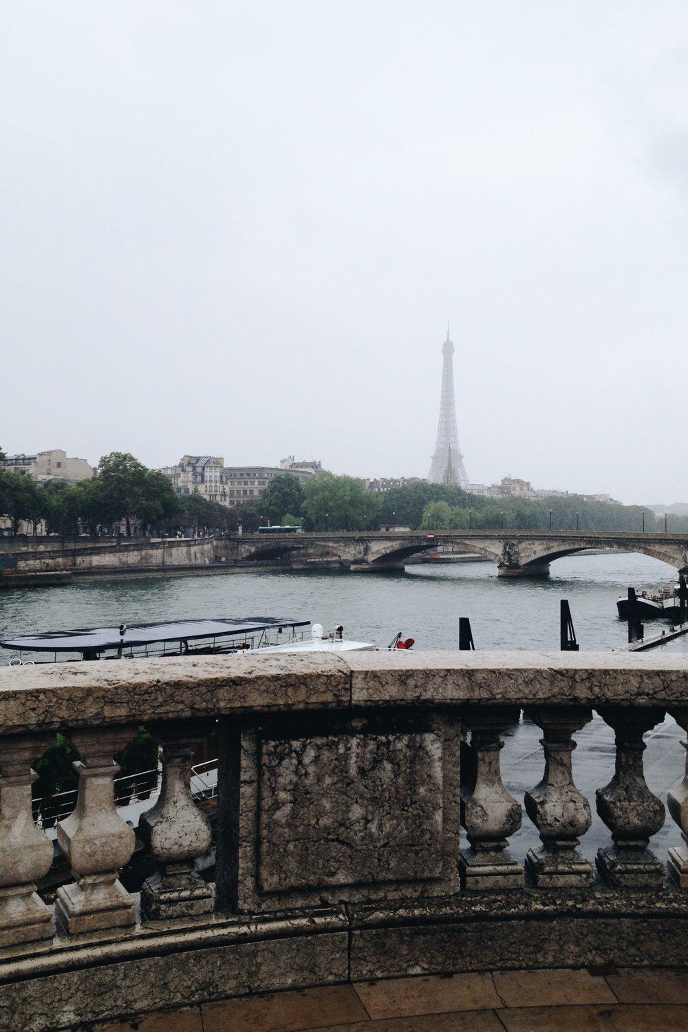 Eiffel Tower from afar