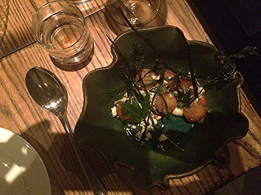 Patatas Bravas : como croquetes.