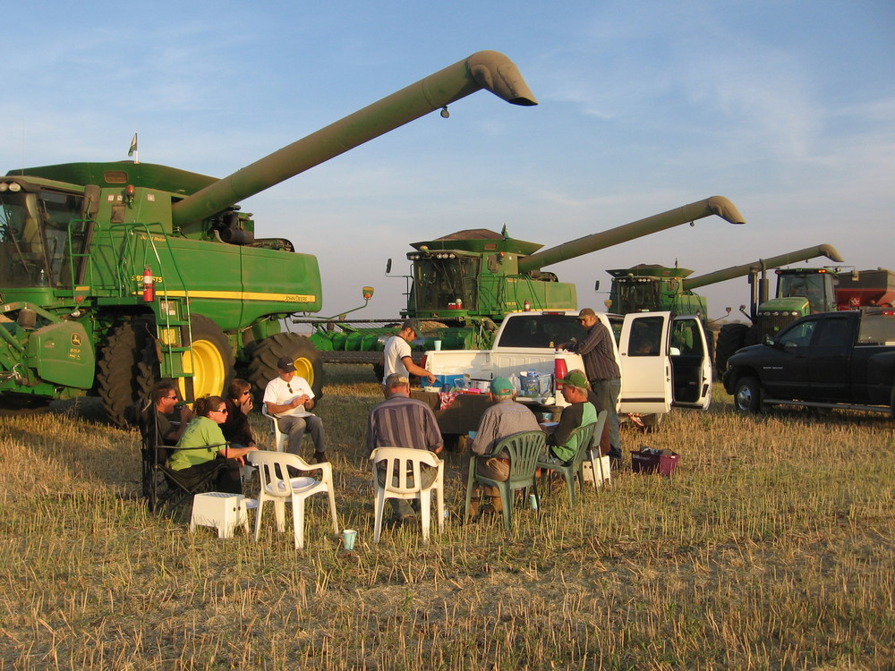 Supper in the Field
