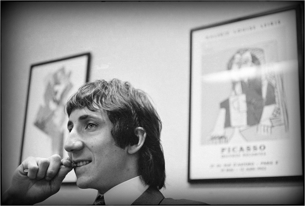"""The Kid is Alright!"" - Pete Townshend visits NYC, 1968."
