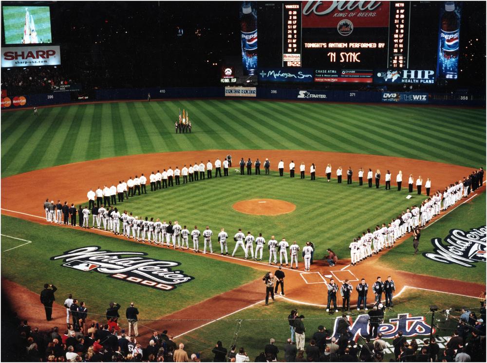 """""""The Subway Series"""" - 2000 at Shea Stadium"""
