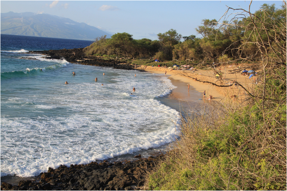 """Big Surf at Little Beach"" - on Maui, 2013."