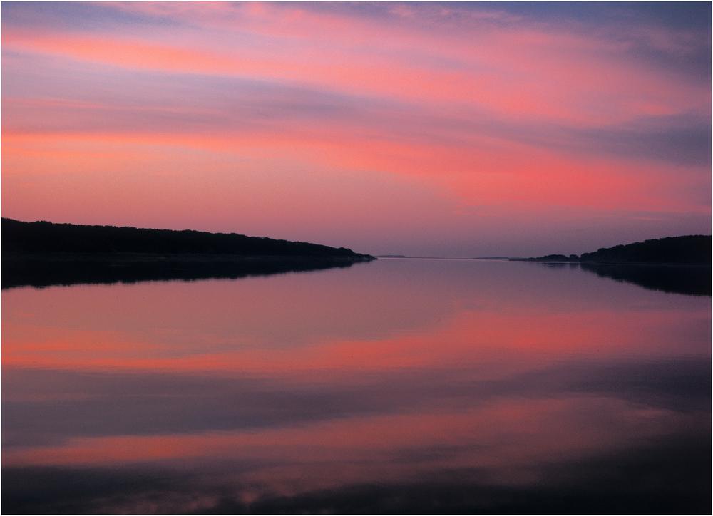 """""""Life is Eternal"""" - Taken at dawn along Edgartown Great Pond, 1997."""