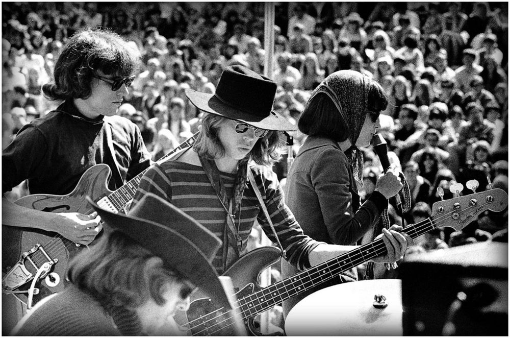 Jefferson Airplane play during the Summer of Love in San Fransisco.