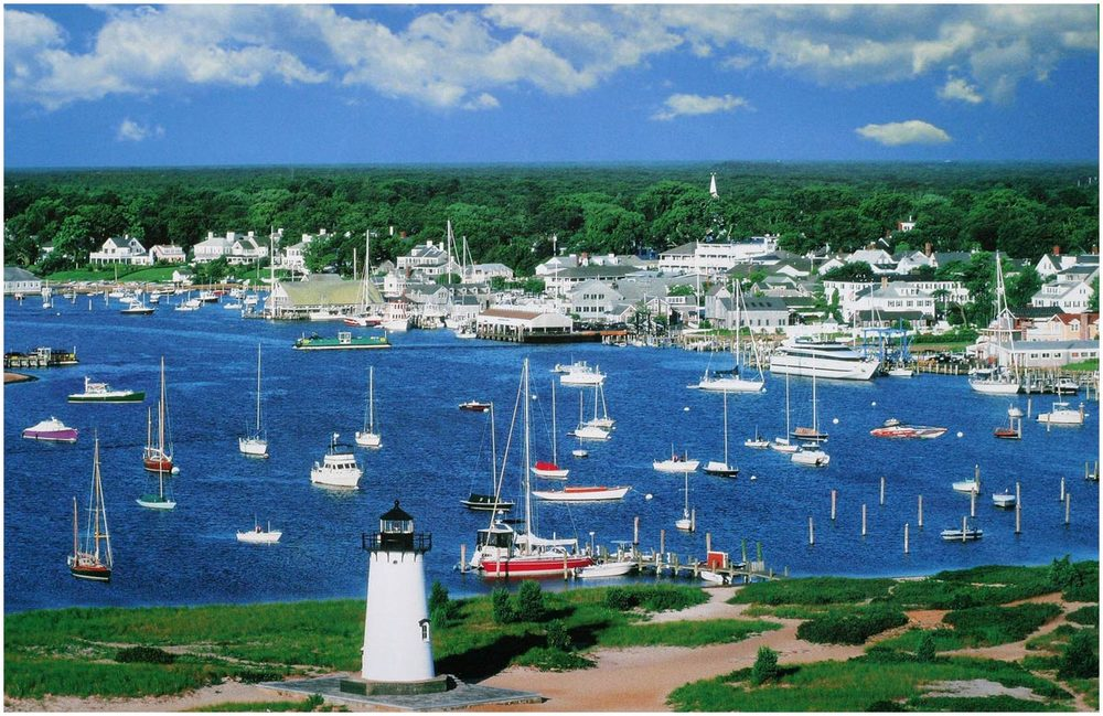Edgartown Waterfront.
