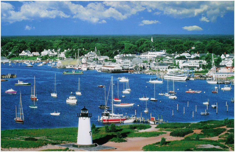 Edgartown Waterfront.