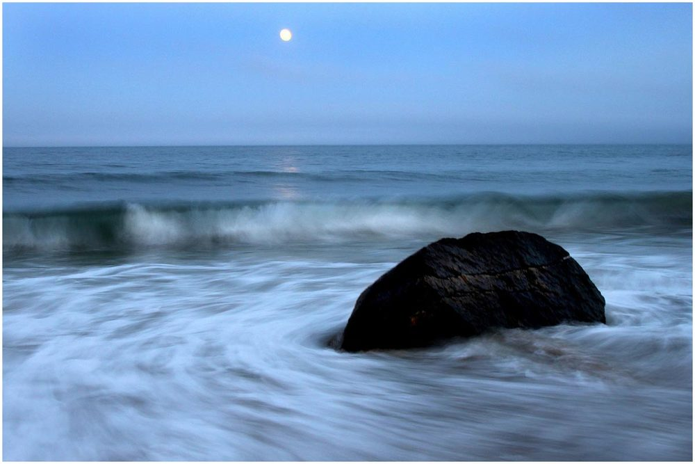 Moonrise at Squibbie, 2010.