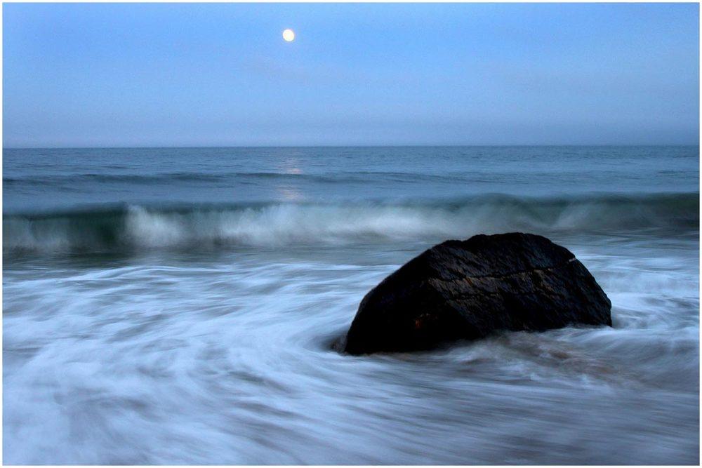Moonrise at Squibbie, 2010.