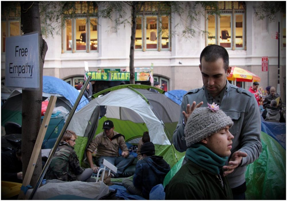 Free Empathy could be had at Occupy Wall Street, 2011.