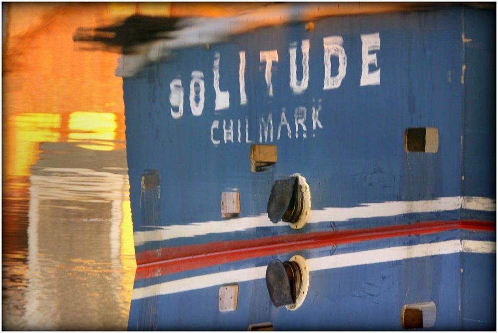 Solitude in Menemsha, 2014.