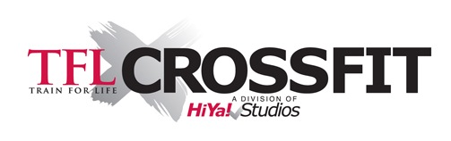 "HiYa Studios ""Train for Life"" Crossfit Logo, Branding and Websites"