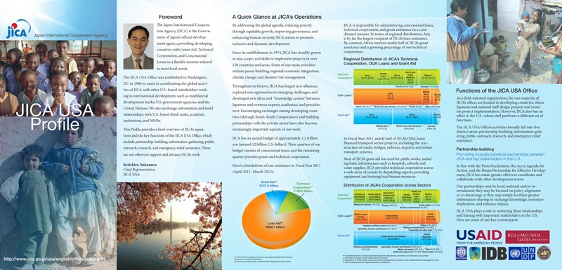 JICA USA Profile and Operations Brochure