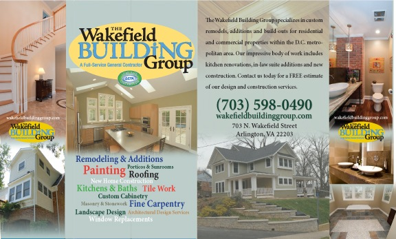 Wakefield Builders  Trade Show Booth