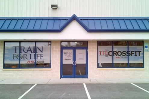 HiYa Train for Life Fitness Studio  Exterior Displays