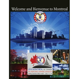 Ahepa  2012 Welcome to Montreal Book